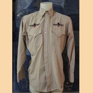 Plains Western wear shirt